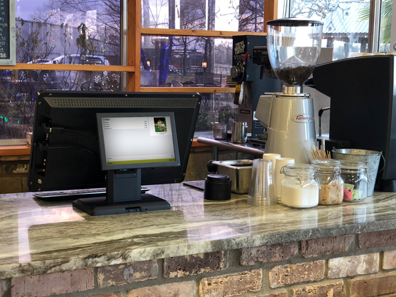 Acid Point of Sale Coffee Shop