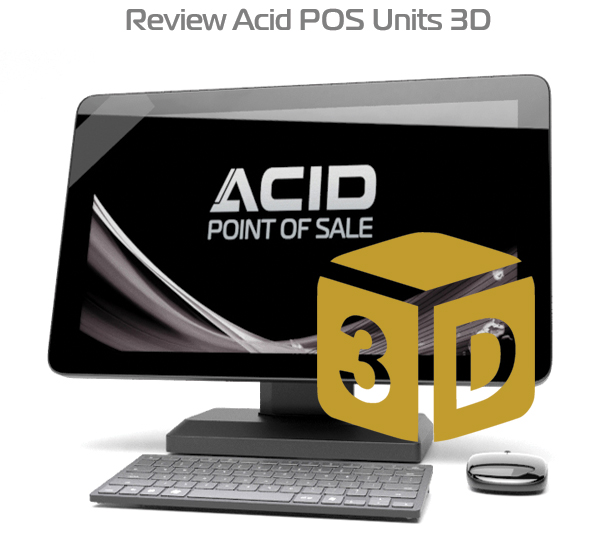 Acid POS 3D Virtual Models