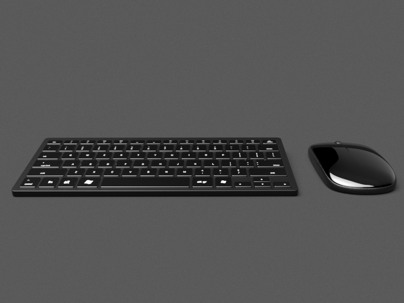 Series A - Wireless Keyboard Mouse Combo