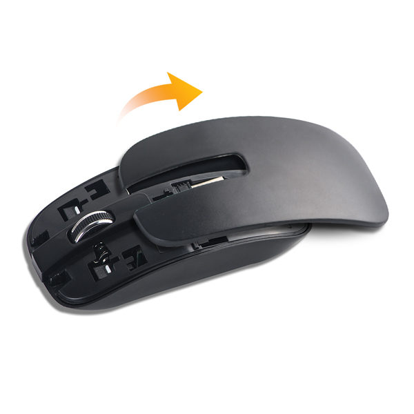 Extended Mouse Keyboard Black 2