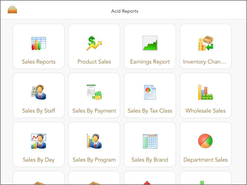 ACID Custom Reports