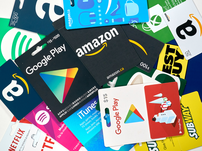 Use of Gift Cards via Point of Sale